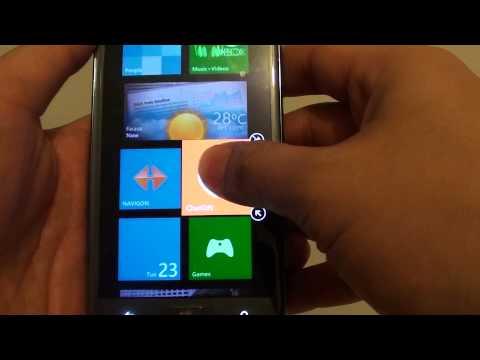 Samsung ativ S: How to ReArrange Home Screen Icons