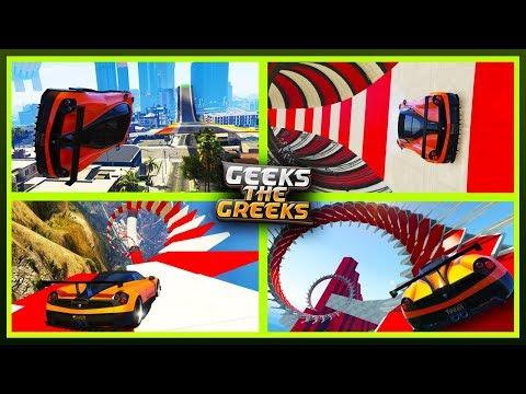 STUNT RACES MONTAGE! - (GTA 5 Online PS4 + Links)