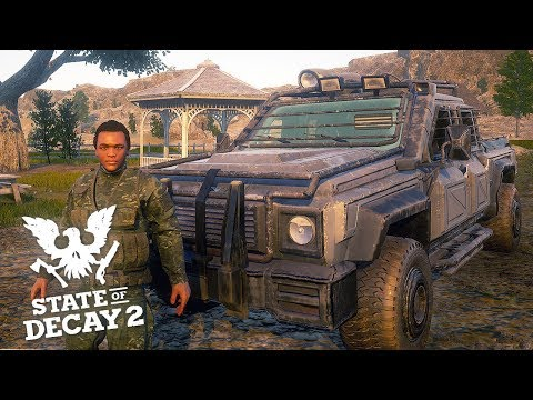 ARMOURED TRUCK & AIRFIELD WEAPON LOOTING! State of Decay 2
