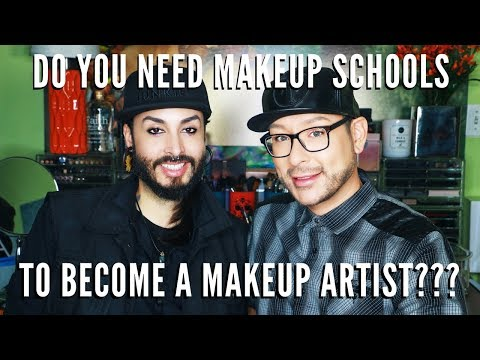 Should I go to MAKEUP SCHOOL to become a MAKEUP ARTIST ??? | mathias4makeup