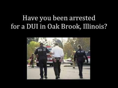 Oak Brook DUI Lawyer