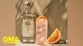 How to make a refreshing 3-ingredient 'Pink Tiger' cocktail l GMA