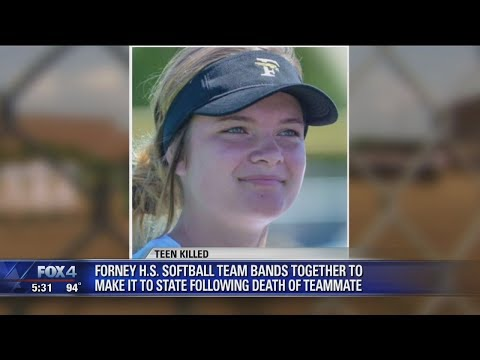 Softball team honors teammate killed in accident by earning a trip to the state tournament