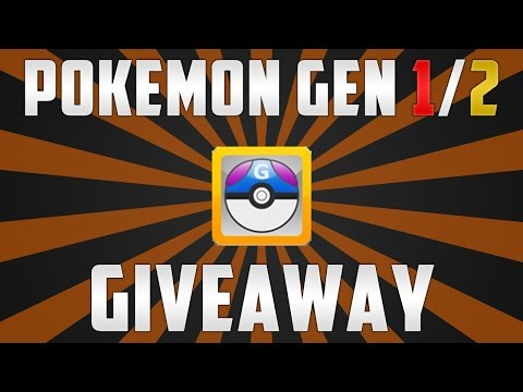Pokemon Gen 1/2 Pokemon Files Giveaway