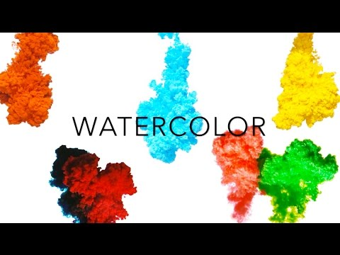 Watercolor textures!
