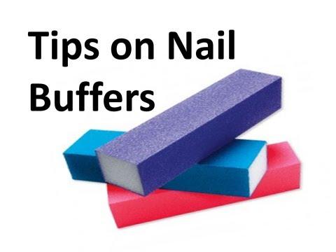 NAIL ART HACK | HOW TO SAVE NAIL BUFFER | Dearnatural62