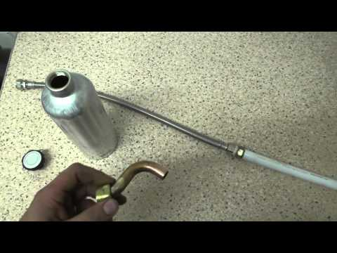 DIY water bottle distiller to desalinate sea water