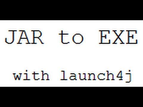 Convert JAR Files to EXE Files!
