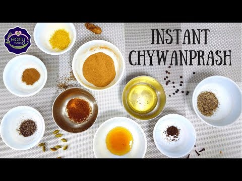 Instant Homemade Chywanprash Recipe | Immunity Mix for Kids | Early Foods
