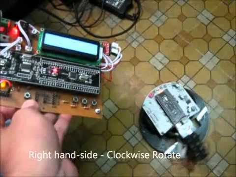 Robot Control with Motion Detection