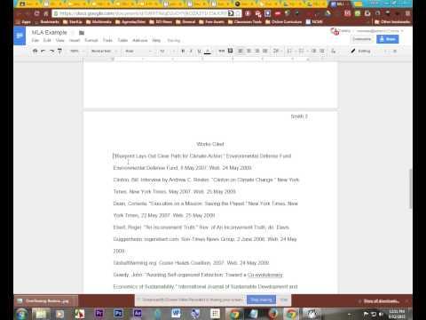 Hanging Indent in Google Docs.webm