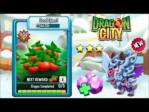 Dragon City - Food Quest | Full Fight & Combat [COMPLETED]