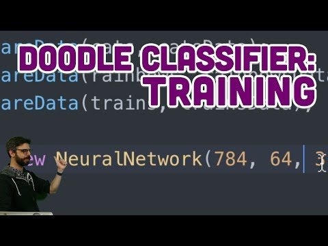 5.4: Doodle Classifier: Training - Intelligence and Learning