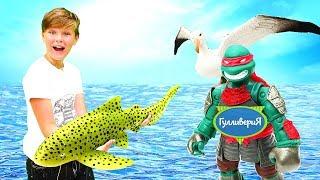 Download Фигурки Коллекта - спасаем АКУЛУ! Игрушки животных - Подводный мир. Видео для детей Video