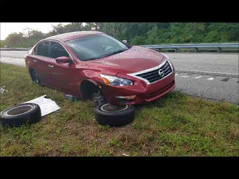 Car COLLAPSES Jacked on Grass Dirt Wet Ground (How to Jack Lift Vehicle Sand gravel