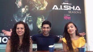 Live Chat with the Cast of A.I.SHA - Ruslaan Mumtaaz Rashi Mal Auritra Ghosh