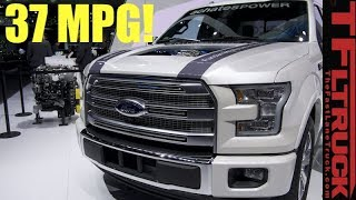 Really! A Super and Turbocharged Boxer Truck Diesel/Gas Engine with No Spark Plugs