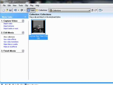how to make a cool youtube video using movie maker