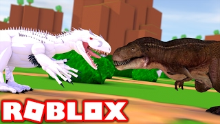 Download WORLDS LARGEST DINOSAURS IN ROBLOX! (Roblox Dinosaur Simulator) Video