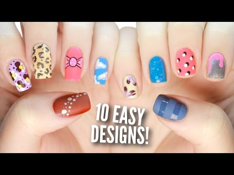 10 Easy Nail Art Designs For Beginners: The Ultimate Guide #3!