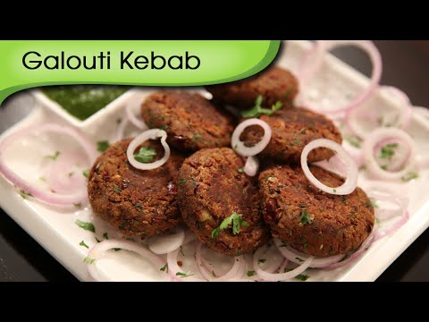 Galouti Kebab - Vegetarian Kebab | Starter Snack Recipe | Ruchi's Kitchen