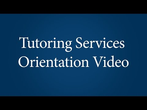 Orientation to Tutoring at Ithaca College