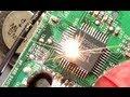 Small electronics massively overloaded