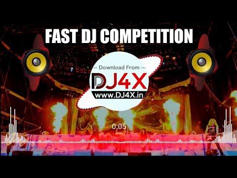 Fast DJ Competition | Ghanti Mix | DJ Neeraj Jhansi | DJ4X