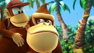 Donkey Kong Country Returns All Bosses mirror Mode