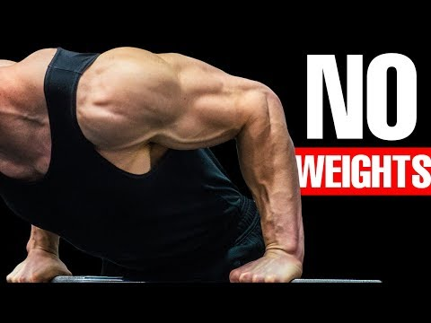 BOULDER SHOULDERS - Bodyweight Workout