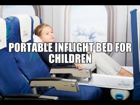 Portable Inflight Bed For Children - Jetkids Bed Box!
