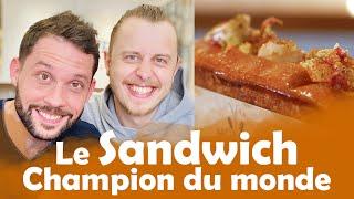 Sandwich à 1,10€ VS Le Sandwich Champion du monde avec NORMAN !