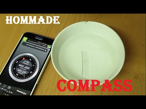 Floating Needle and Make a Simple Compass - Homemade Experiment