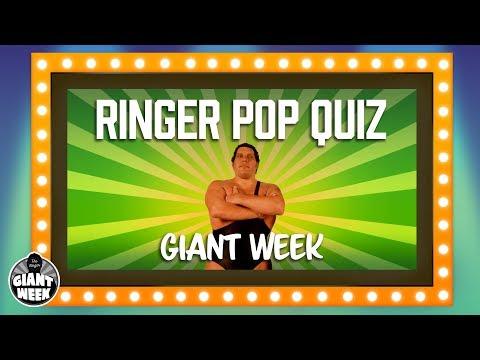 Giant Week   Ringer Pop Quiz   The Ringer