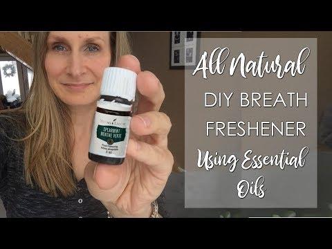 All Natural Breath Freshener Using Essential Oils