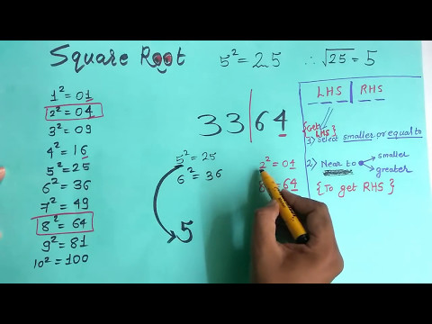 How to find Square Root Easily In Hindi :MATHS TRICKS