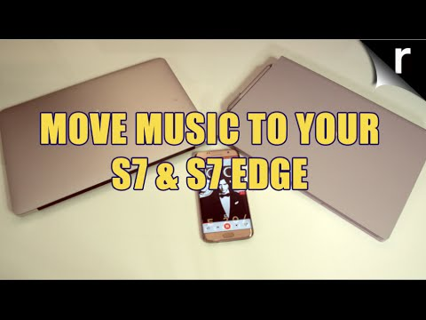 How to copy music to the Galaxy S7 and S7 Edge