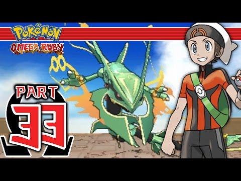 Pokemon Omega Ruby - Part 33 - Delta Episode Chapter 5 Mega Rayquaza