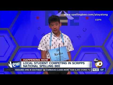 San Diego boy competes in Scripps National Bee