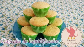 cupcake de liquidificador - super econômico