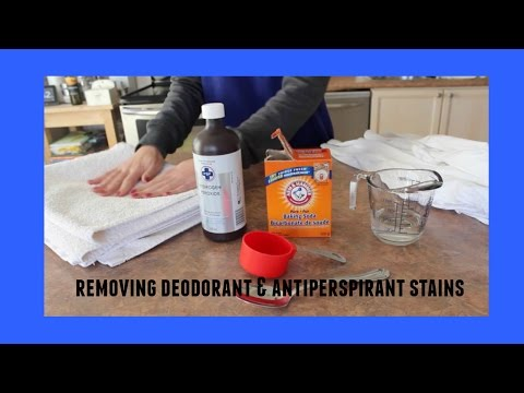 Removing Yellow Deodorant & Antiperspirant Stains | Diary of a Girly Girl