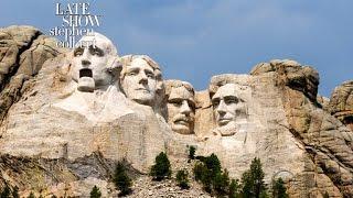 Mount Rushmore Responds To Trump