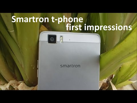 Smartron t.phone - My first Event and impressions