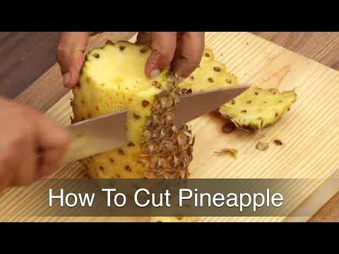 Learn To Cut Pineapple - Gautam Mehrishi - How Se Wow Tak