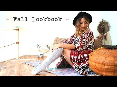 Bohemian Inspired Fall Lookbook
