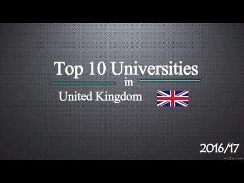 Top 10 Universities in UK 2017
