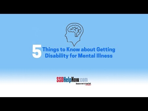 5 Things to Know About Getting Disability for Mental Illness