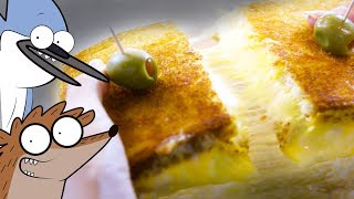 How to Make a Grilled Cheese Deluxe from Regular Show!