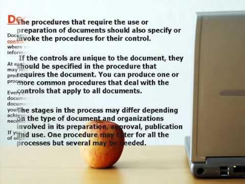 ISO 9000 Document Control Procedures