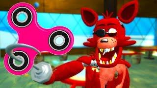 FOXY GETS A FIDGET SPINNER! (Gmod For Kids FNAF Funny Moments) RedHatter